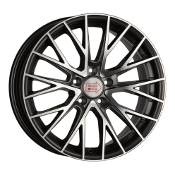 1000 MIGLIA MM1009 Dark Anthracite Polished 8x17/5x120 ET30 D72.6
