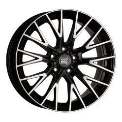 1000 MIGLIA MM1009 Gloss Black Polished 8x17/5x120 ET30 D72.6