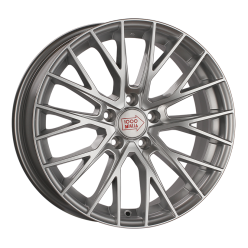 1000 MIGLIA MM1009 Silver High Gloss 7x17/5x108 ET50 D63.4