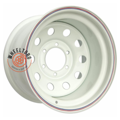 Off-Road Wheels УАЗ белый 8x15/5x139.7 ET-19 D110