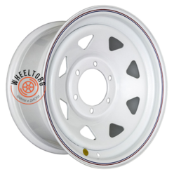 Off-Road Wheels Тойота Ниссан белый 8x16/6x139.7 ET10 D110