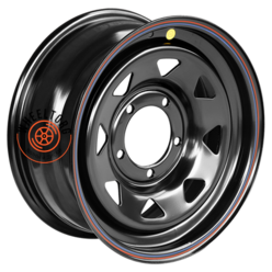 Off-Road Wheels УАЗ черный 7x16/5x139.7 ET25 D110