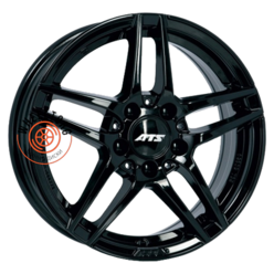ATS Mizar Diamond Black 7.5x16/5x112 ET45 D66.5