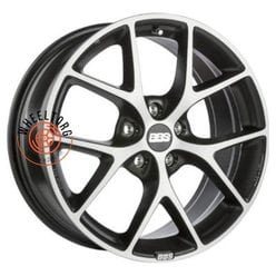 BBS SR Vulcano grey diamond cut 8x18/5x100 ET48 D70