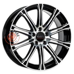 Borbet CW1 Black polished 7x17/5x114.3 ET40 D72.5