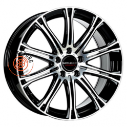 Borbet CW1/5 Black polished 8x18/5x114.3 ET40 D72.5