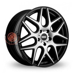 Fondmetal STC-MS Matt Black + Diamond Cut 8.5x20/5x114.3 ET35 D75
