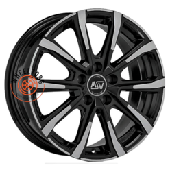 MSW 79 Black Full Polish 7x17/5x112 ET45 D576