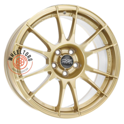 OZ Ultraleggera Race Gold 8x18/5x100 ET48 D68