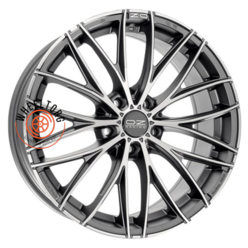 OZ Italia 150 Matt Dark Graphite Diamond Cut 7x17/5x100 ET48 D68