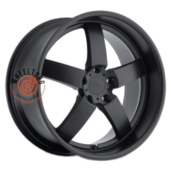 TSW Rockingham Matt Black 8x17/5x112 ET32 D72